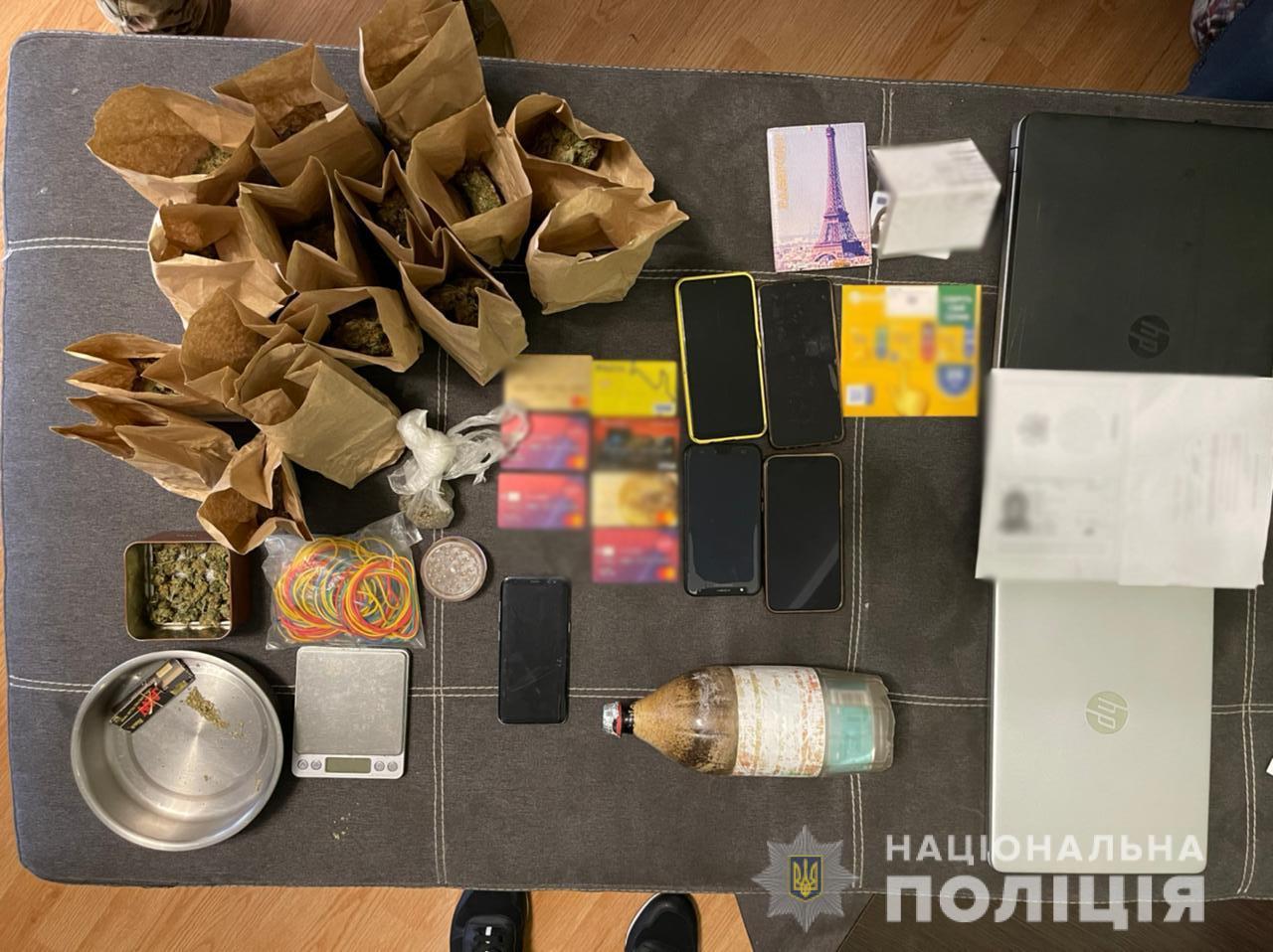 Иностранец в Харькове реализовывал наркотики