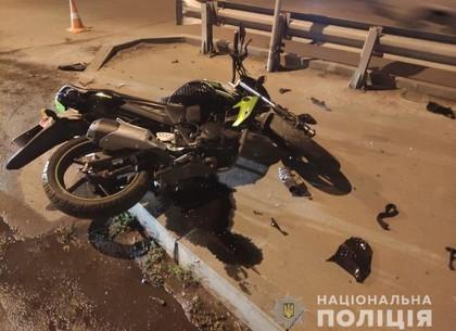 В Харькове погиб мотоциклист (видео, фото)