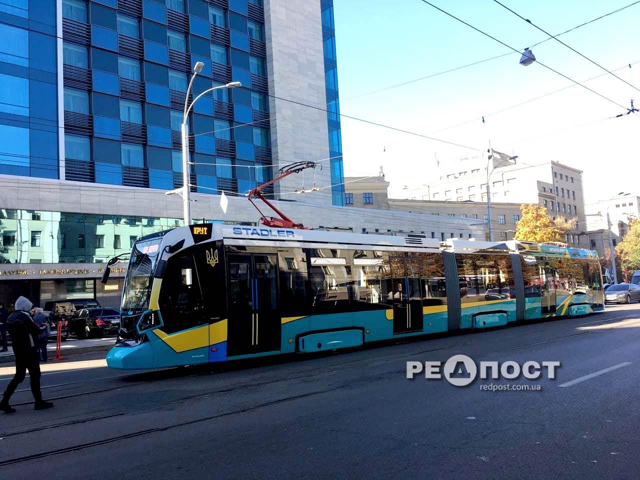 """Новый трамвай """"Stadler"""""""