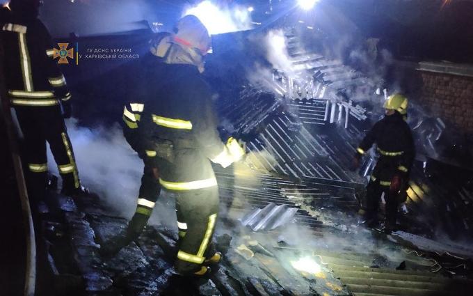 Пожар Харьков: склады на улице Китаенко горели 8 октября