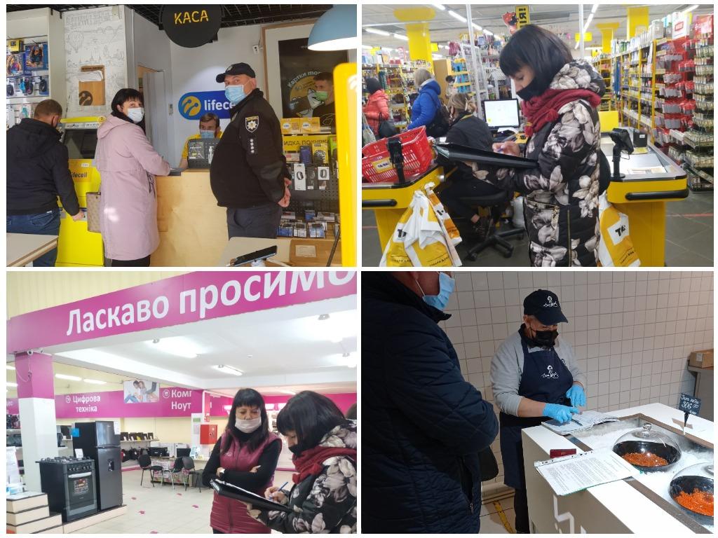 Нарушителей карантина выявили рейды правоохранителей в Харькове