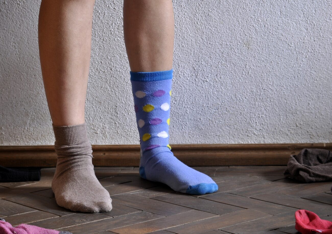 В Харькове украли носки
